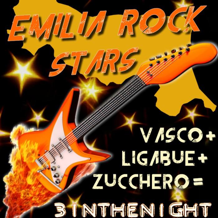 EMILIA ROCK STARS Vasco Liga Zucchero Tribute