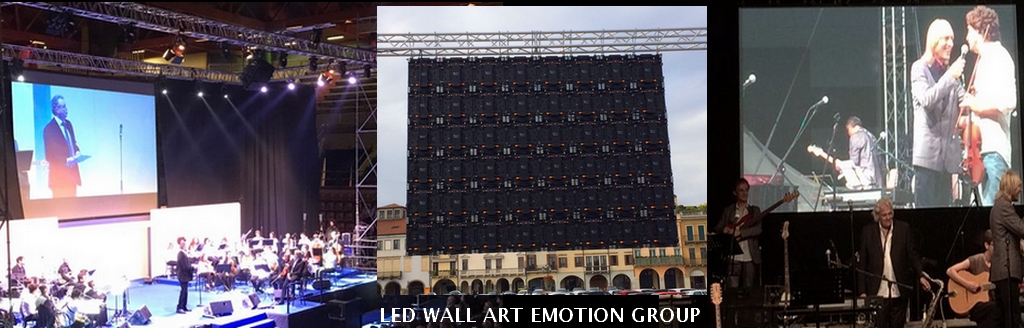 Service Audio Luci Video Palchi con Led Wall