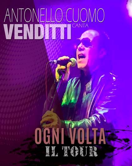 Antonello Cuomo OGNI VOLTA TOUR